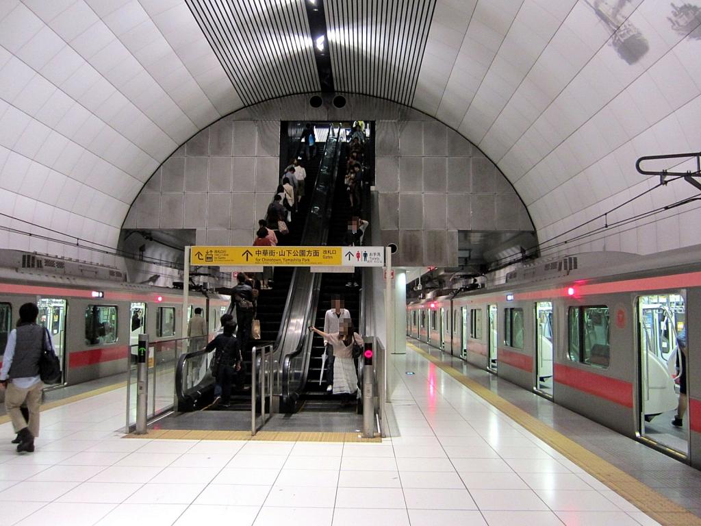 中華 駅 元町 街